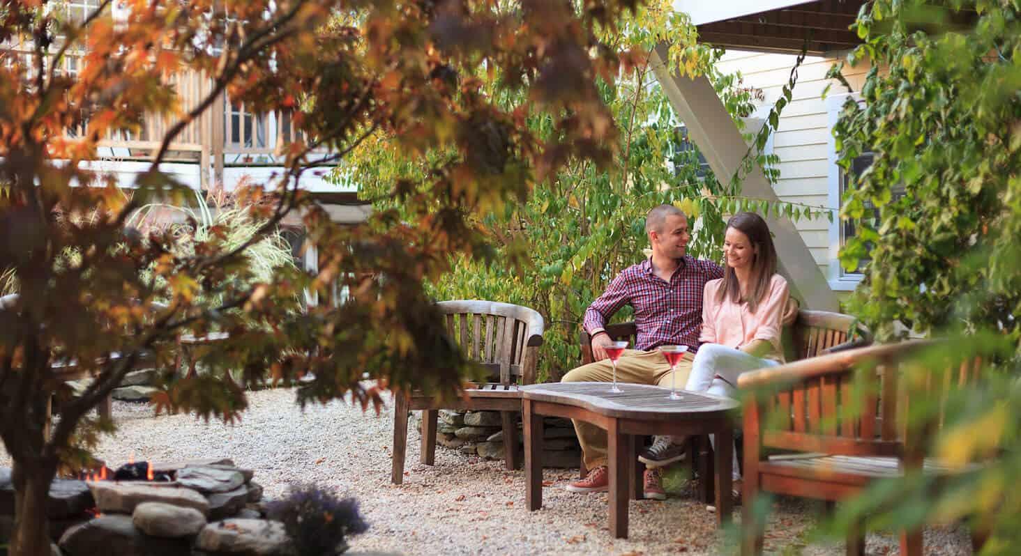 Provincetown Hotel Garden