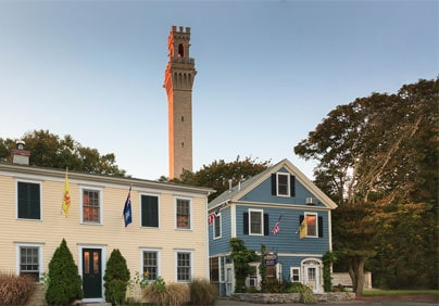 Cape Cod lodging located at the base of Pilgrim Monument