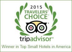 2015 TripAdvisor Travelers' Choice Winner