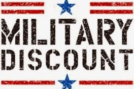 Military- Discount