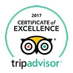 TripAdvisor 2017 Certificate Excellence