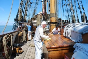 Tall ship Kalmar Nyckel - one of the finest boats in Provincetown