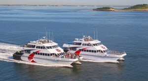 Ferry boats to get to Provincetown