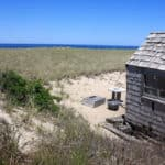 Cape Cod Beach Shack And Ocean