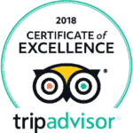 TripAdvisor Award of Excellence 2018 Badge