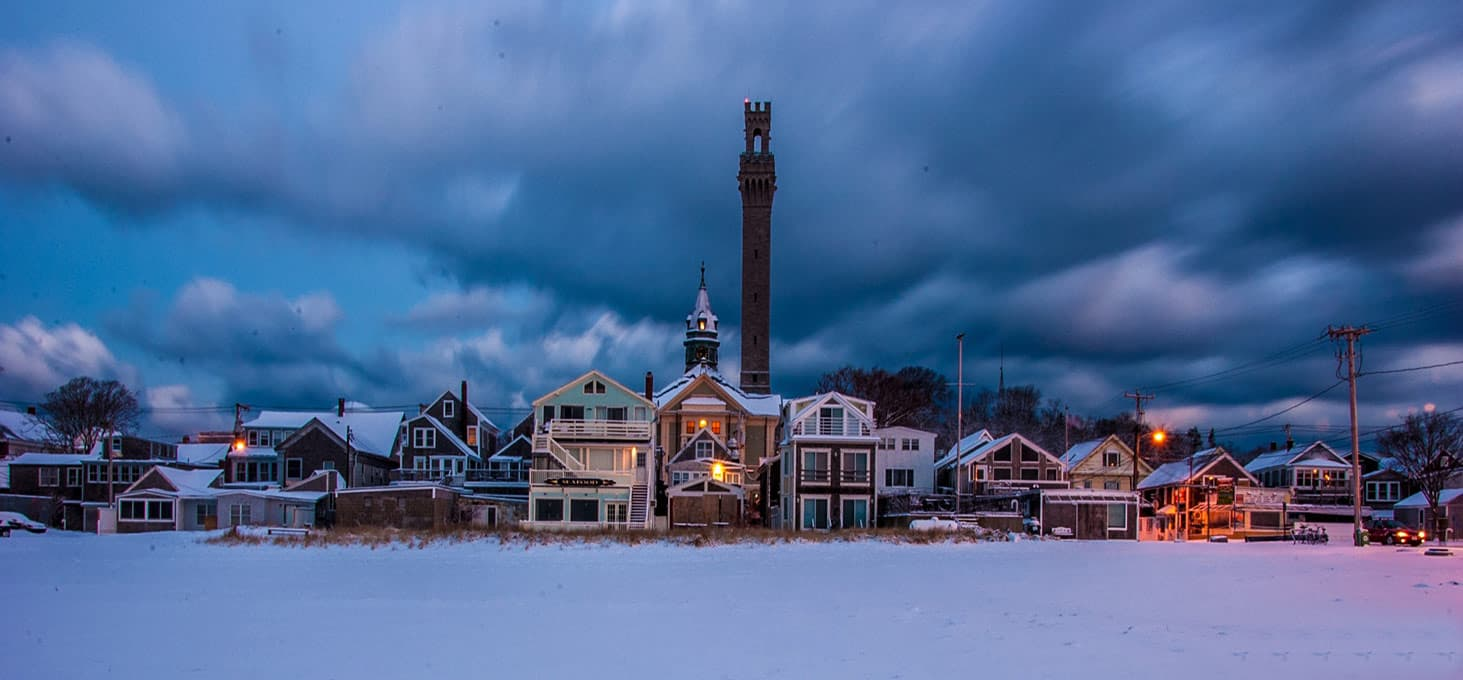 Winter in Provincetown
