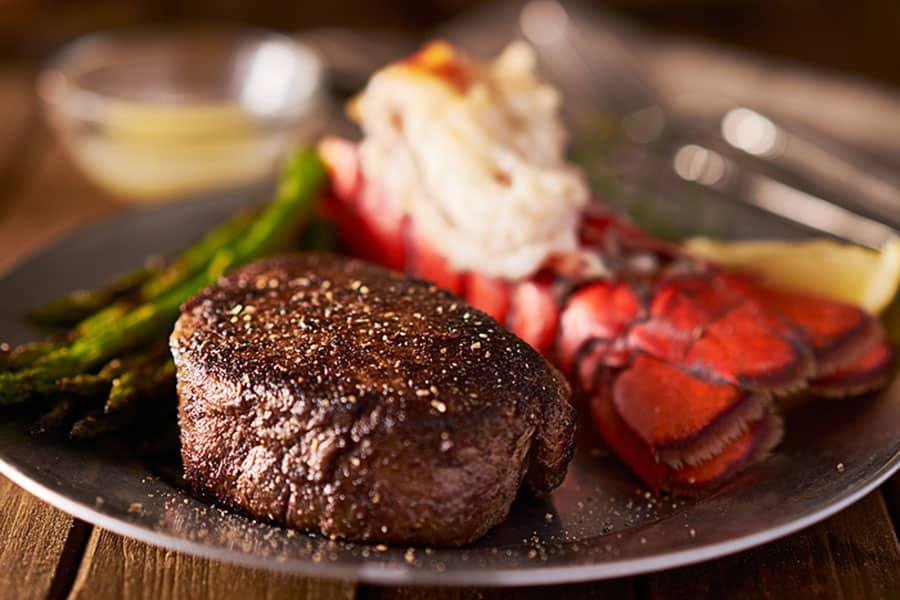 Filet Mignon Steak with Lobster